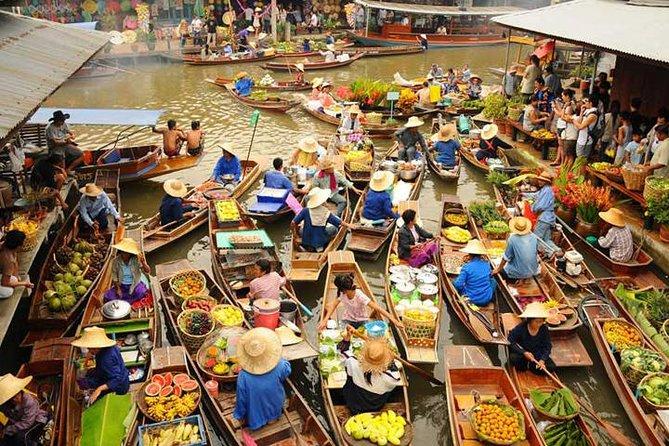 Damnoen saduak floating market 1
