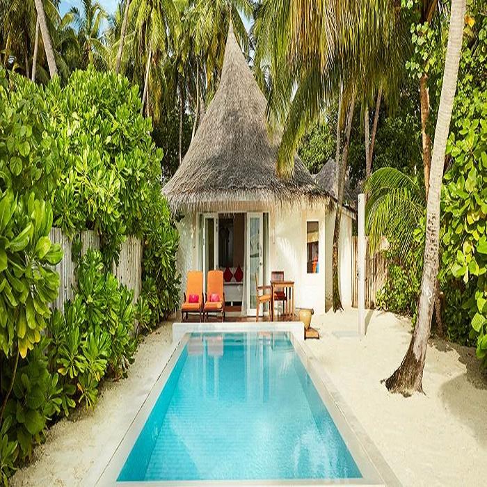 Vilu reef sun aqua pool villa